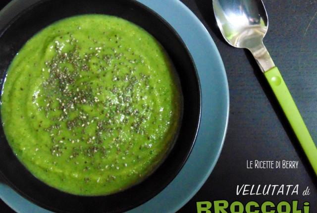 Vellutata di Broccoli e semi di Chia
