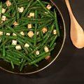 fagiolini e tofu in padella
