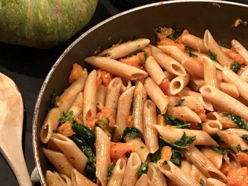 Pasta Zucca e Spinaci