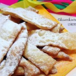 Chiacchiere Vegan Fritte