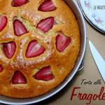 Torta alle Fragole senza Burro, Latte e Uova
