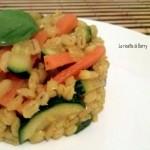 Orzo perlato con carote e zucchine - Primo vegetariano