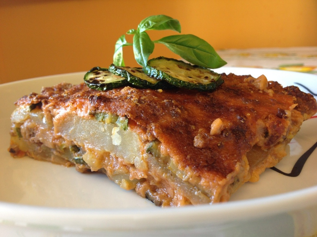 MOUSSAKA LIGHT CON ZUCCHINE