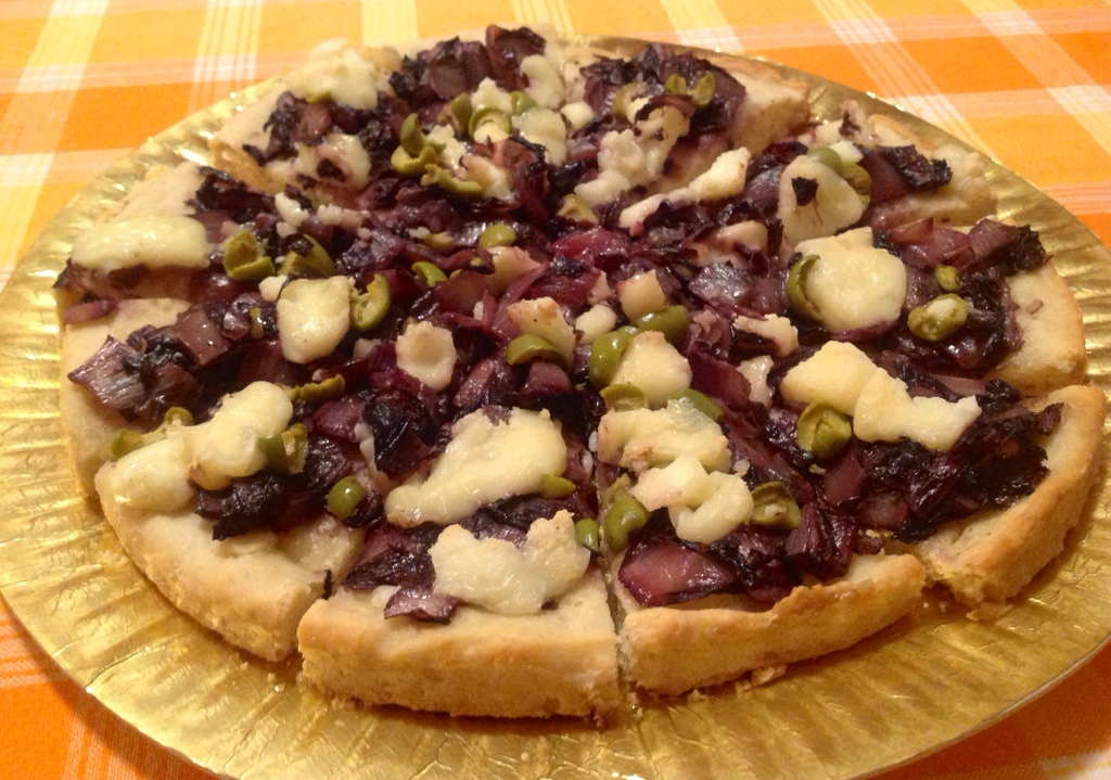 Fig, Taleggio, And Radicchio Pizza Recipes — Dishmaps