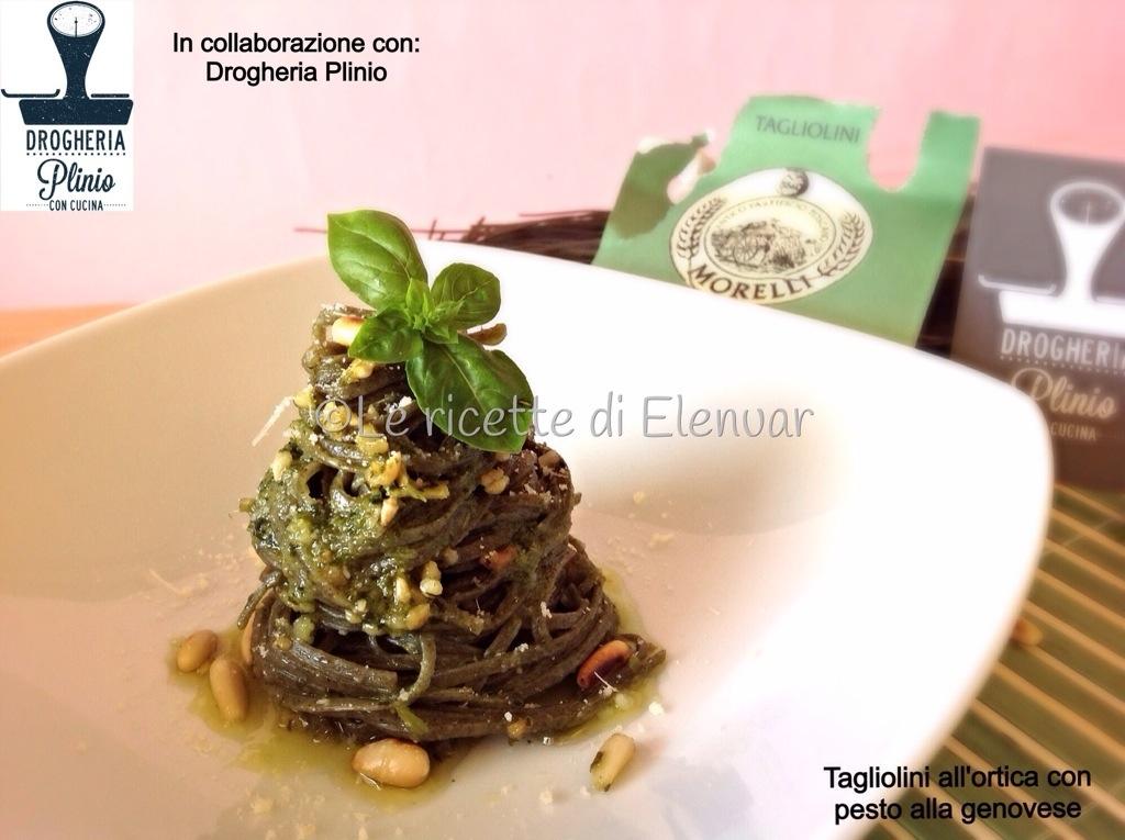 Tagliolini all 39 ortica con pesto alla genovese for Cucinare ortica