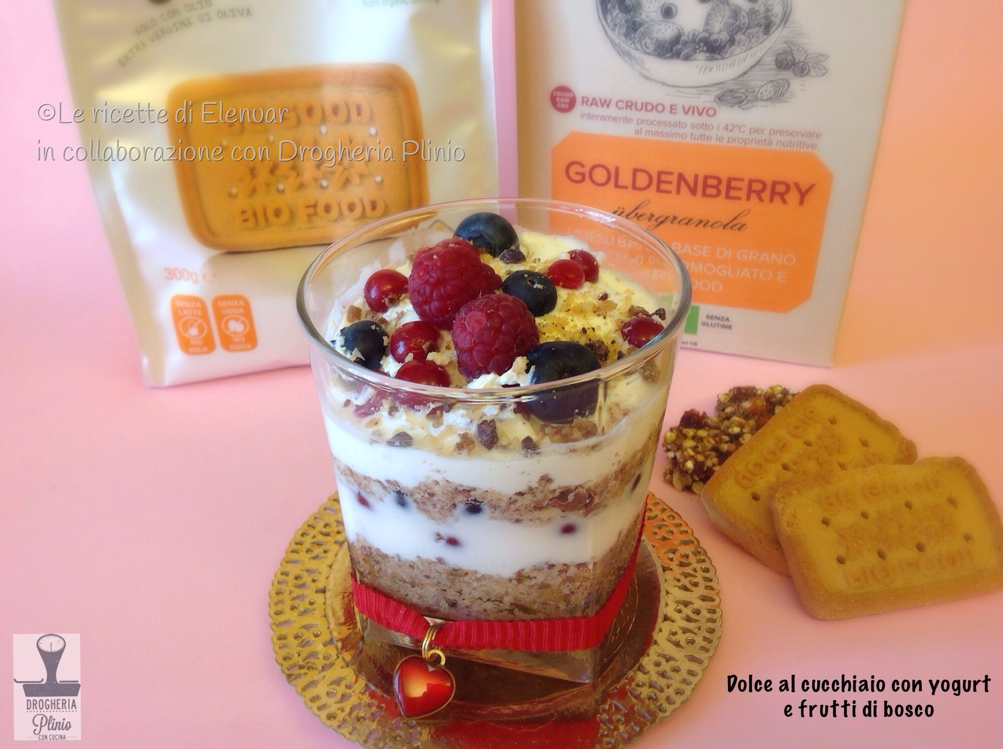 Ricette dolci al cucchiaio con lo yogurt