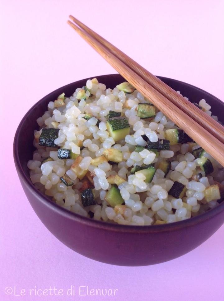 Chicchi di konjac con zucchine ricetta primo piatto for Cucinare konjac