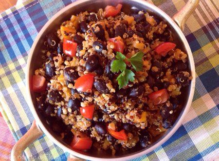 QUINOA CHILI – Ricetta primo piatto senza glutine
