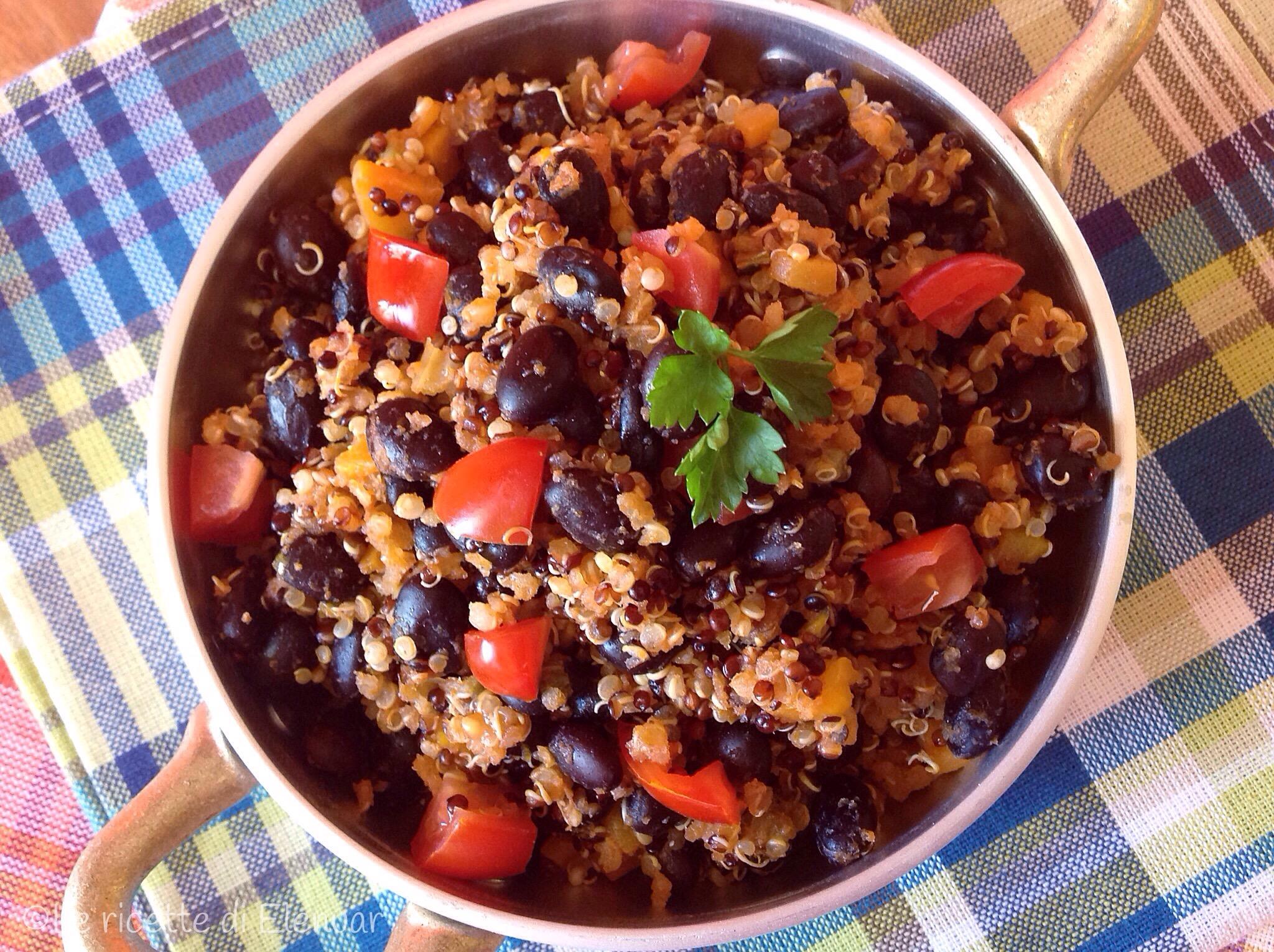 QUINOA CHILI - Ricetta primo piatto senza glutine