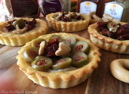 CROSTATINE DI PATATE FARCITE – Ricetta aperitivo