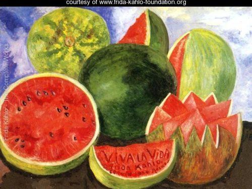 LE ANGURIE IN VIVA LA VIDA DI FRIDA KAHLO – Il cibo nell'arte