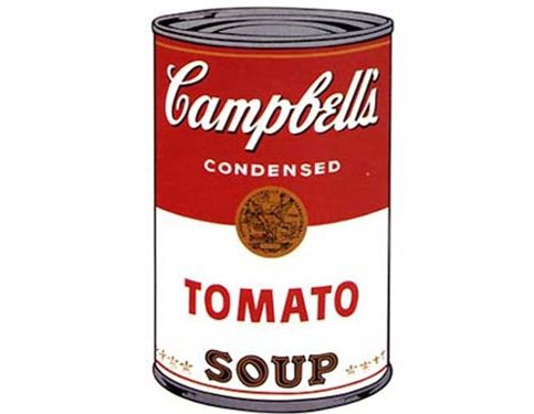 ANDY WARHOL E LE CAMPBELL'S SOUP – Il cibo nell'arte