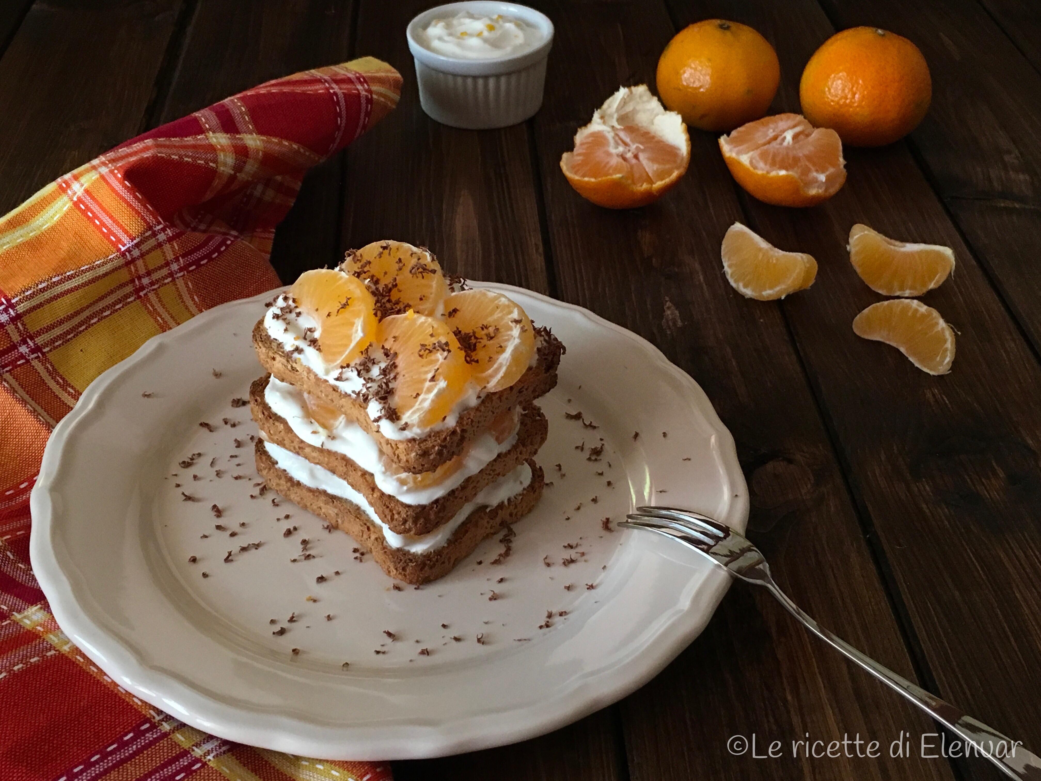 Mattonella con clementine e yogurt greco le ricette di for Cucinare yogurt greco