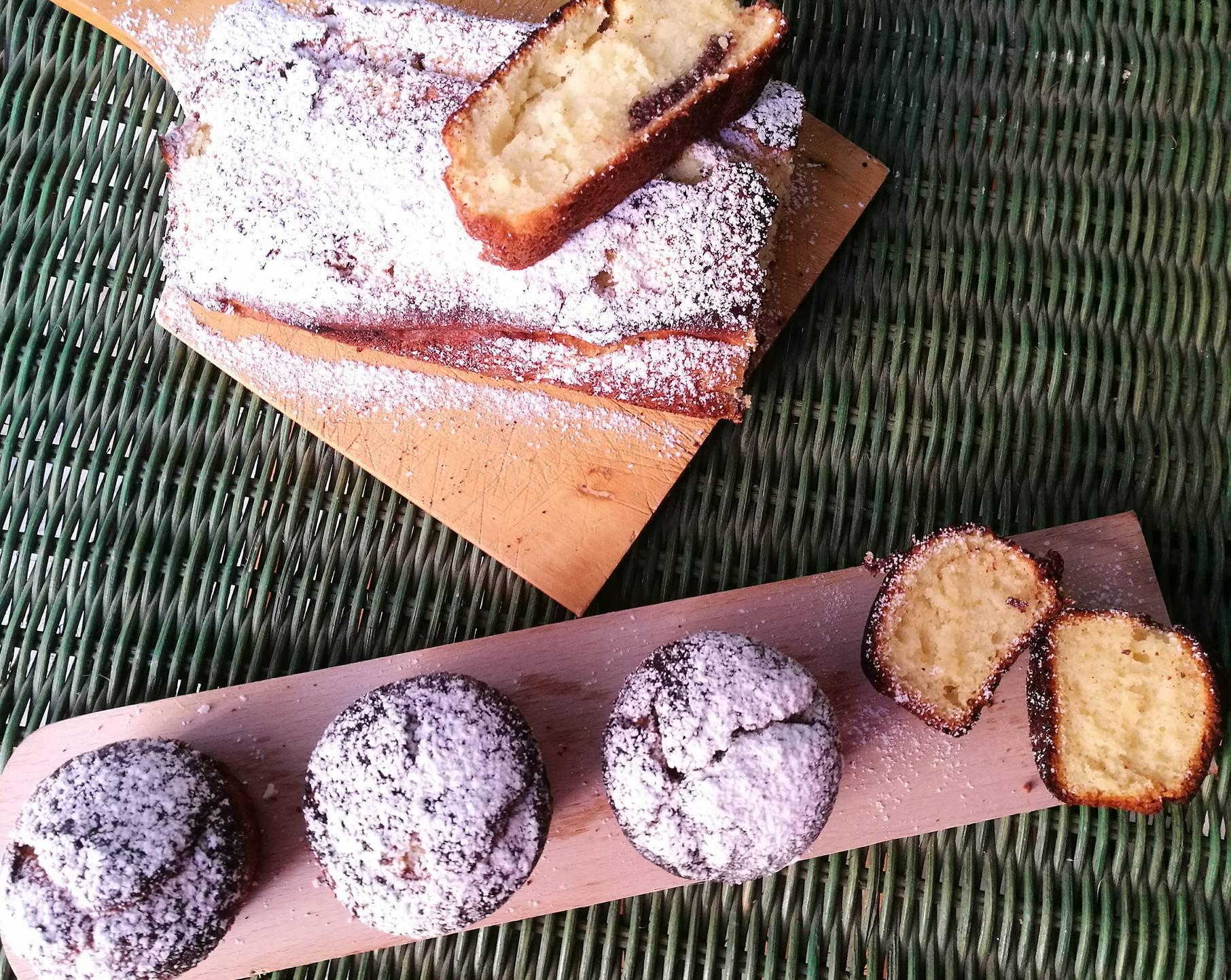 Ricetta base per Plumcake e Muffin al Mascarpone e Cioccolato