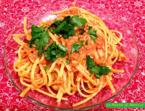 Linguine al tonno (ricetta Gambero Rosso)