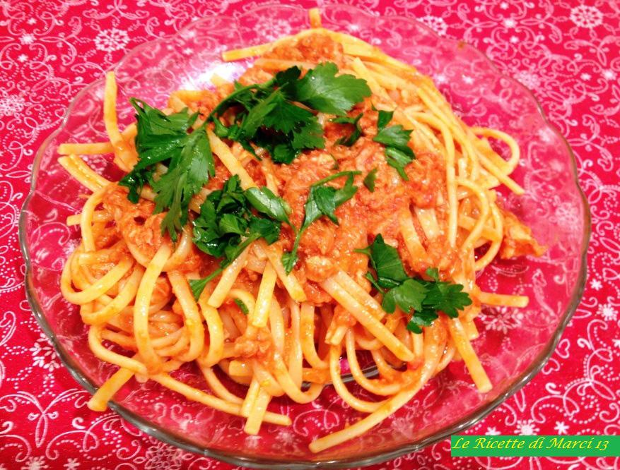 Linguine al tonno ricetta gambero rosso le ricette di for Ricette gambero rosso