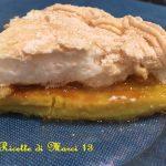 Frittata dolce meringata dell'Imperatrice con marmellata
