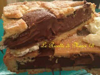 crostata con Nutella morbida