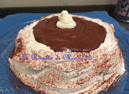 Girella alla Nutella, ghianda (o castagne) e panna