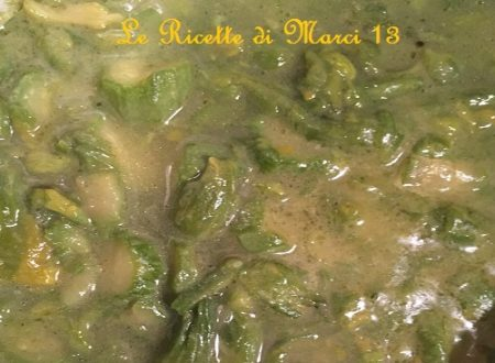 Zuppa di fiori di zucca e zucchine. Ricetta leggera e facile