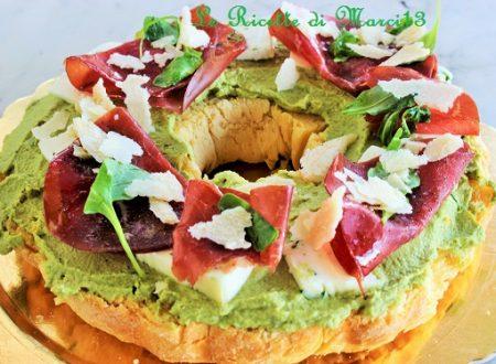 Mega Sandwich al limone e pesto di zucchine (e pollo)