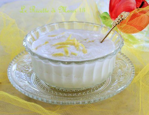Sorbetto al limone cremoso, senza gelatiera !