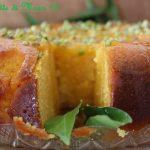Torta alle clementine con farina di polenta.