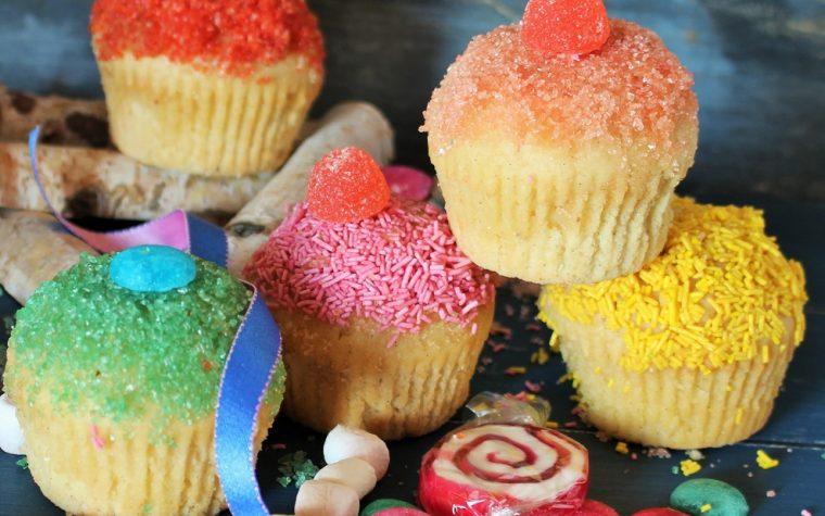 Funfetti Muffin al burro e cannella