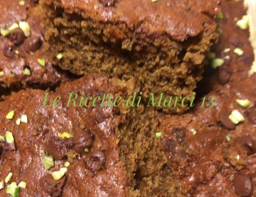 BANANA–CHOCOLATE CHIP WACKY CAKE
