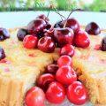 Torta furba integrale alle ciliegie