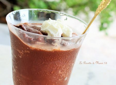 Granita siciliana al cioccolato (senza gelatiera)
