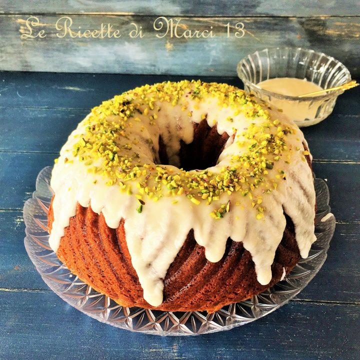 Bundt Cake Bavaria con glassa alla panna