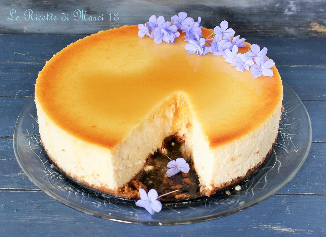New York cheesecake vellutata