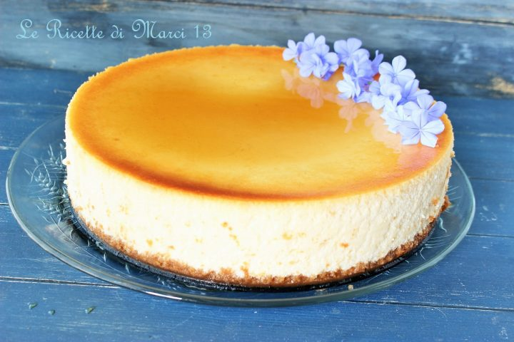 New York cheesecake vellutata