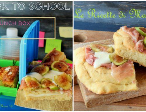 Speciale SCUOLA ricette per il pranzo (e/o le merende) da portare a scuola