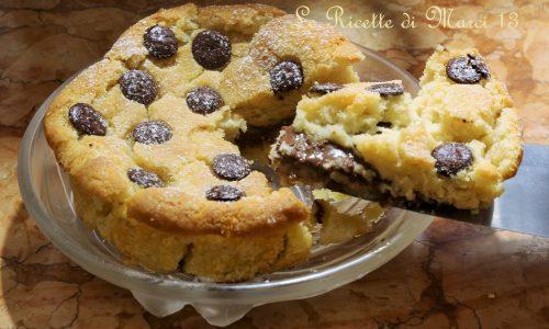 Tortino cookie alla nutella pronto in 15 minuti !!