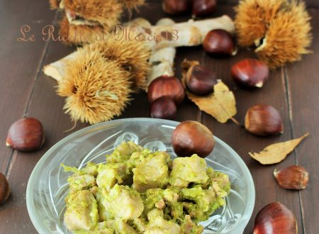 Gnocchi di castagne con fontina, broccoli e salsiccia per il Club del 27