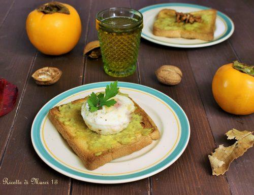 Avocado toast dolci e salati