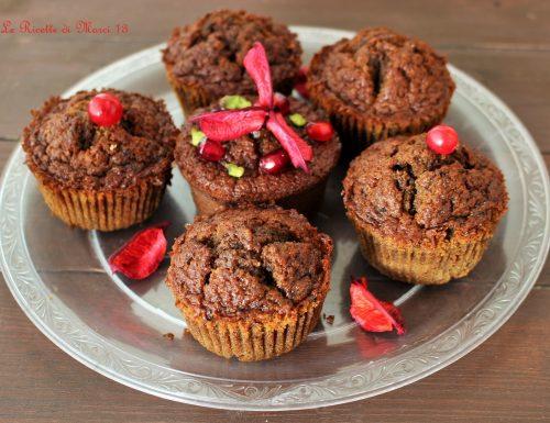 Muffins al caffè con farina di castagne