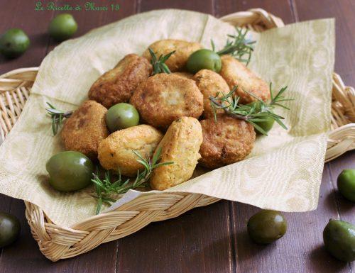 Tortelli rustici saporiti alle olive verdi e patate