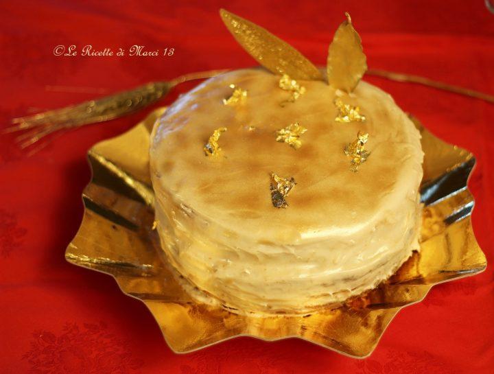 Victoria Sponge Cake con glassa alla vaniglia