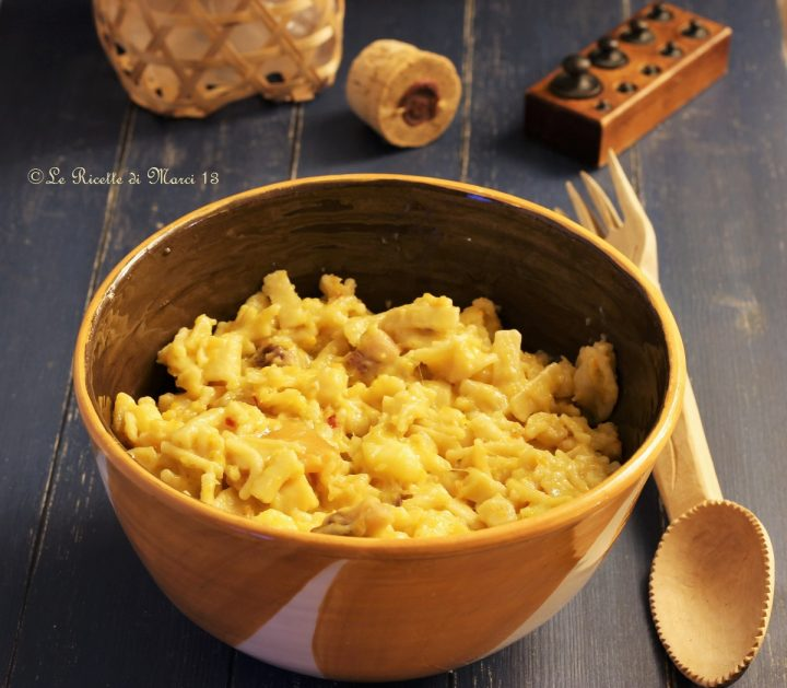 Pasta e patate napoletana