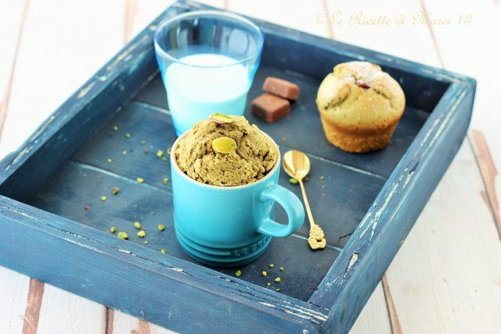 Mug Cake al pistacchio