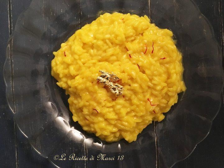 Risotto d'Oro allo Zafferano di Gualtiero Marchesi