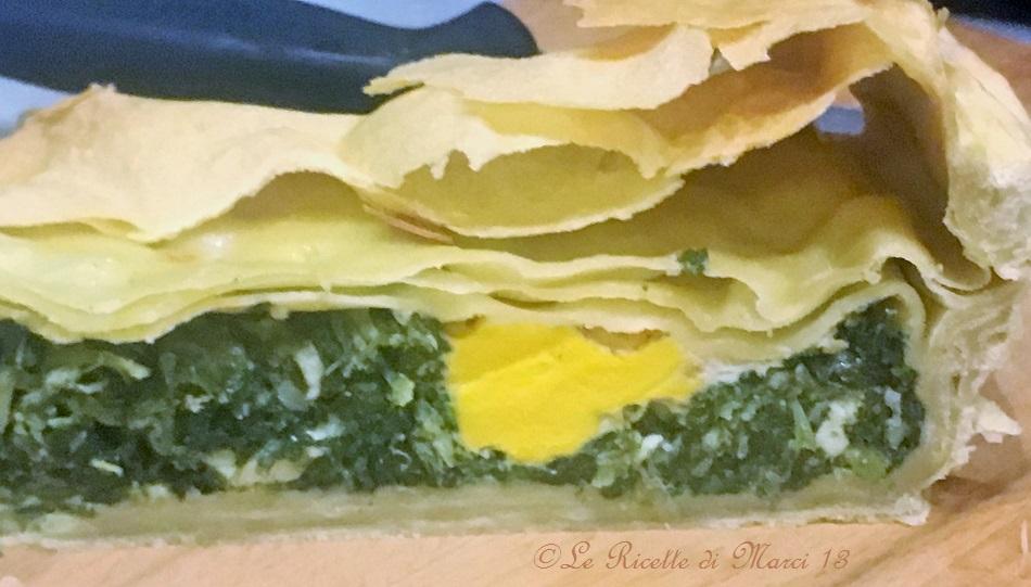 Torta Pasqualina di 16 sfoglie