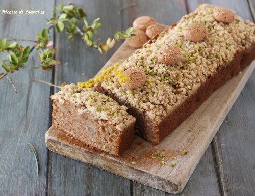 Crumble cake di pere e amaretti : il plumcake perfetto