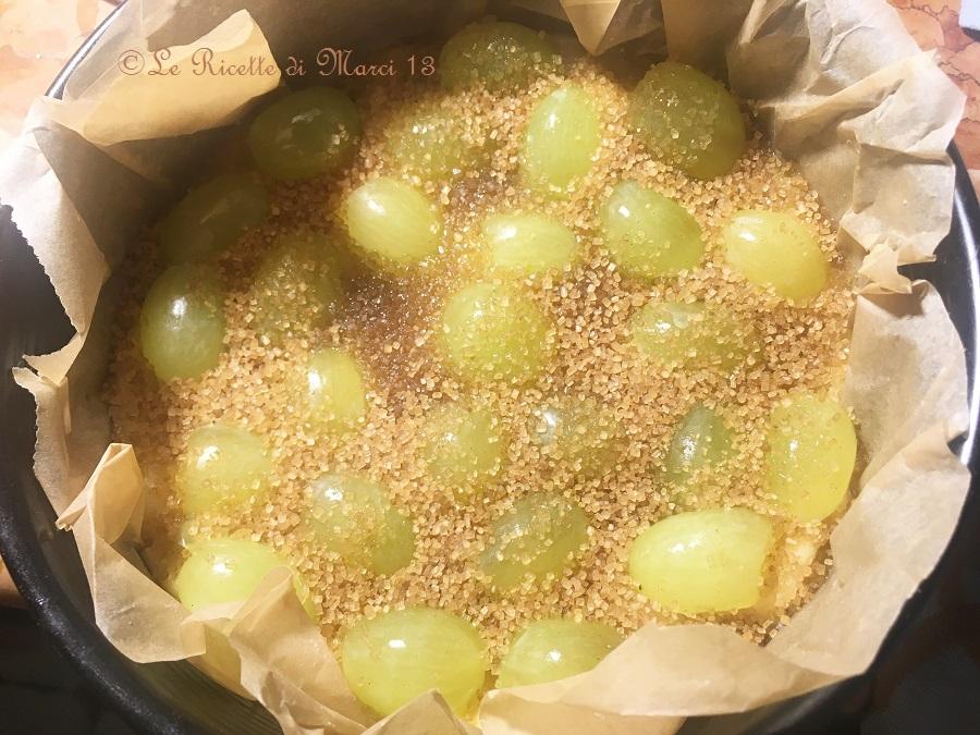 Crostata morbida all'uva