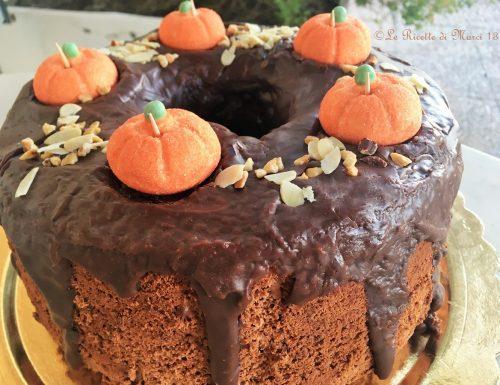 Chiffon cake con glassa alla Nutella