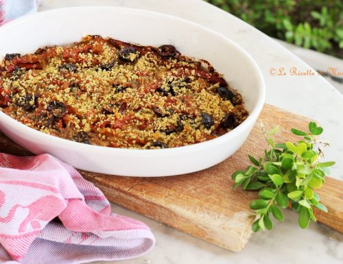 Peperoni arraganati (gratinati). Ricetta facile e veloce