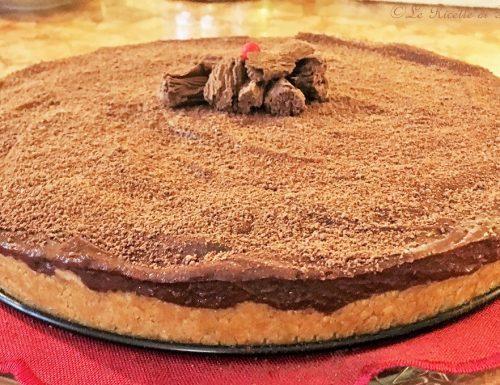 Cheesecake alla nutella e mascarpone, strepitosa. Senza cottura